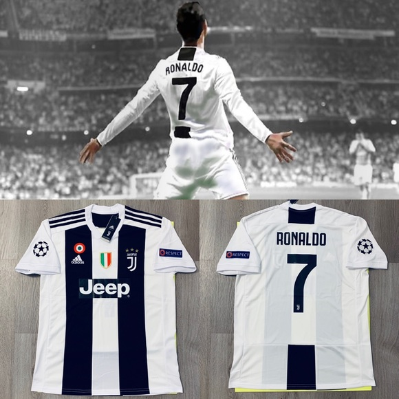 info for 2dacd c7188 Cristiano Ronaldo #7 soccer jersey Juventus Home NWT